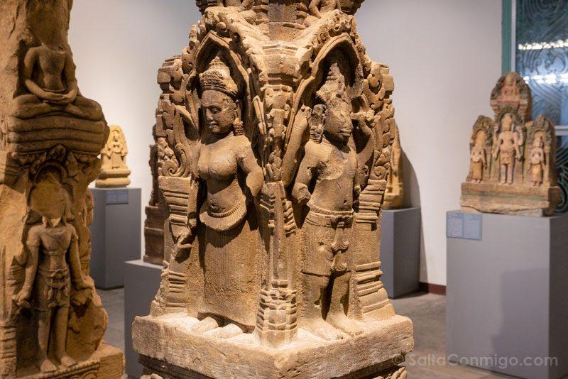 Que Ver en Battambang Museo Provincial Sala