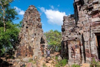 Que Ver en Battambang Templo Banan Salto