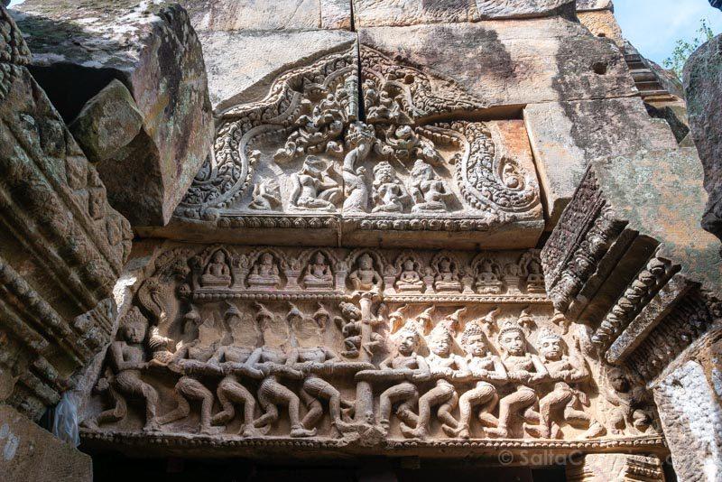 Que Ver en Battambang Templo Ek Phnom Dintel