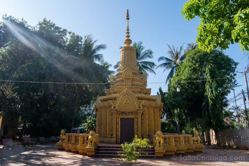 Que Ver en Battambang Wat Kandal