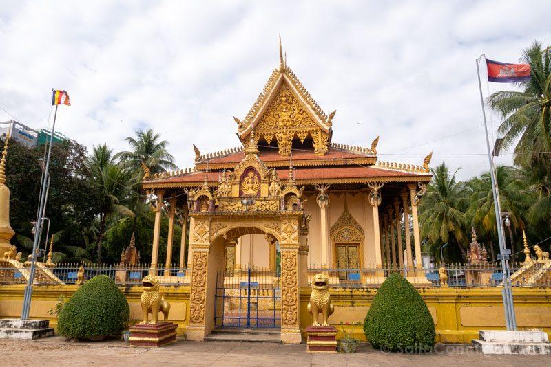 Que Ver en Battambang Wat Piphetthearam