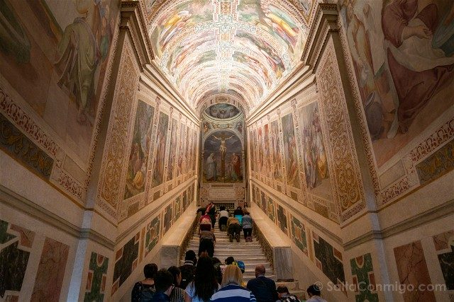 Roma Alternativa Escalera Santa