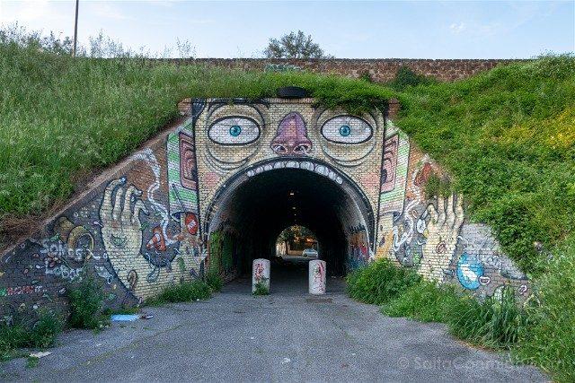 Roma Alternativa Quadraro Grafiti Tunel
