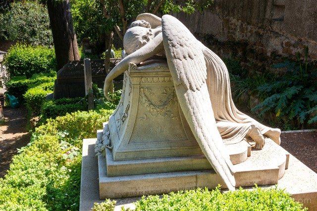 Roma Alternativa Testaccio Cementerio Acatolico Angel William Wetmore Story