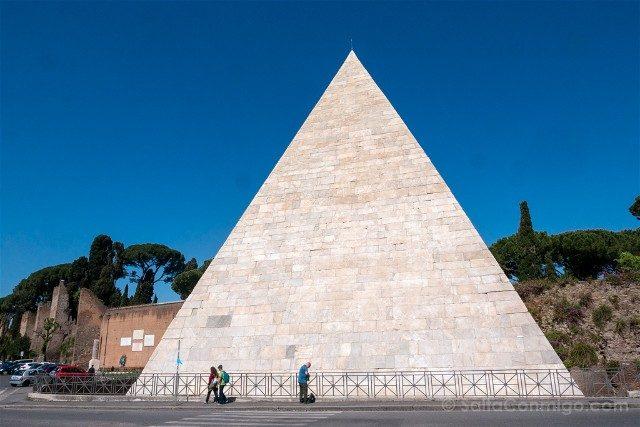 Roma Alternativa Testaccio Piramide Cestia