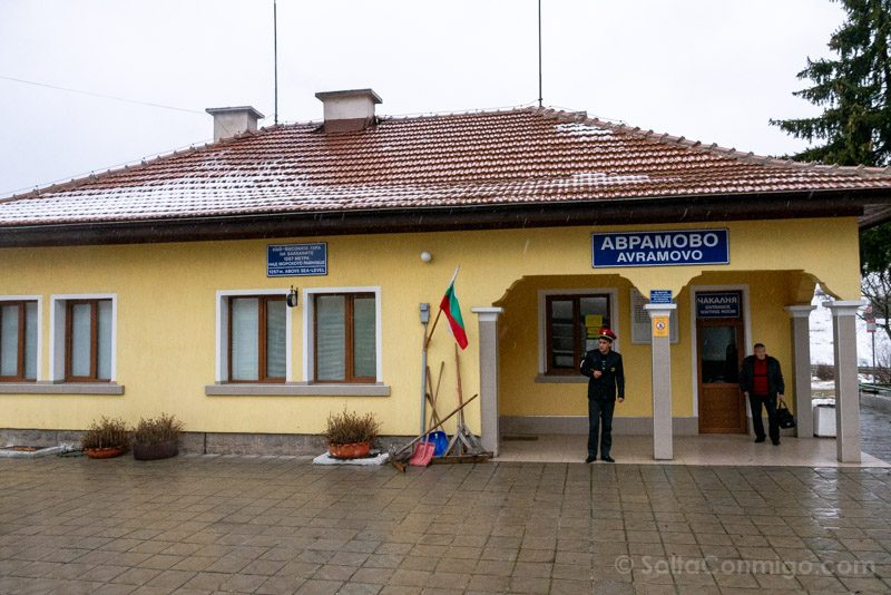 Tren a Bansko Estacion Avramovo