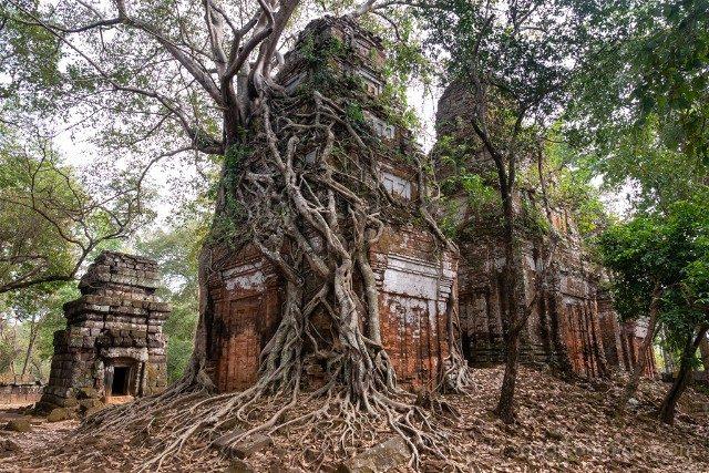 Viajar a Camboya Koh Ker Templo