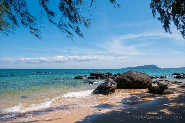 Viajar a Camboya Koh Rong Playa