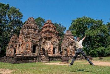 Viajar a Camboya Roluos Preah Ko Salto