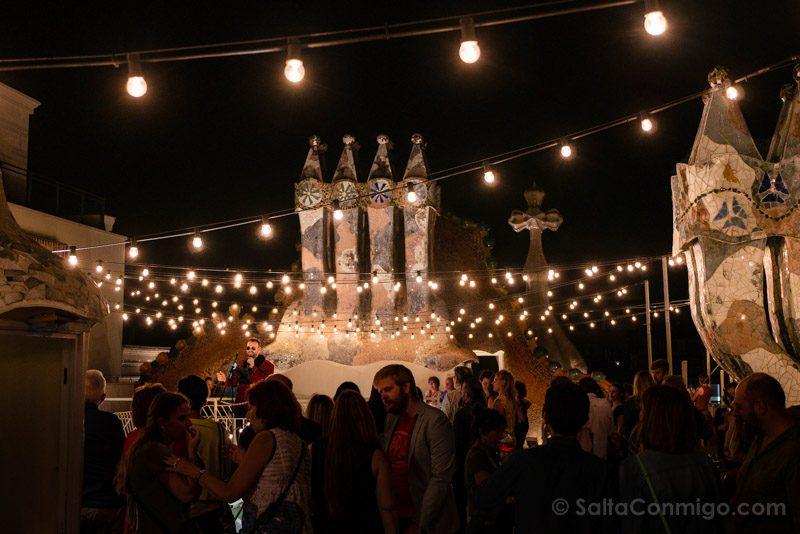 Casa Batllo Tejado Concierto Noche Magica