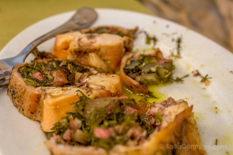 Comida Tipica Centro Italia Marche Coniglio Porchetta