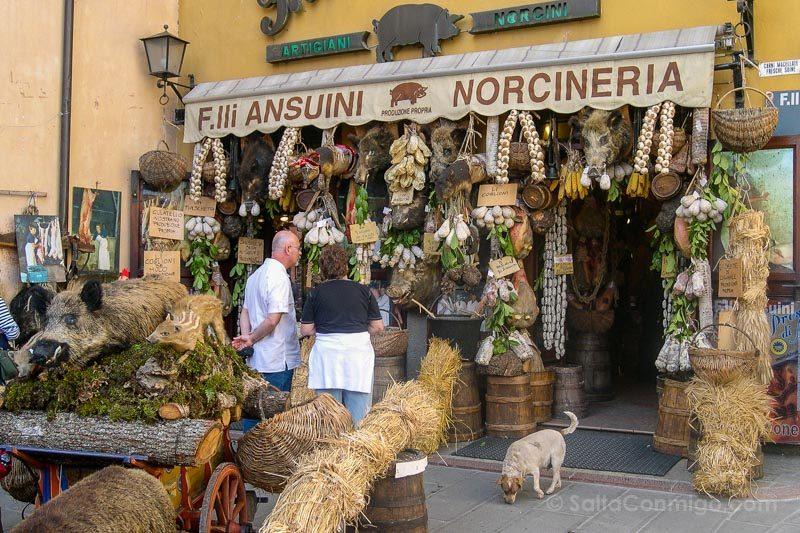 Comida Tipica Centro Italia Norcineria