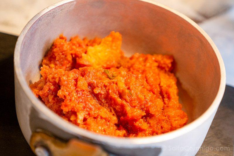 Comida Tipica Centro Italia Toscana Pappa Pomodoro