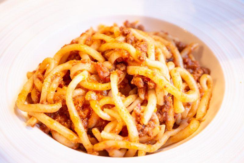 Comida Tipica Centro Italia Toscana Pici Ragu