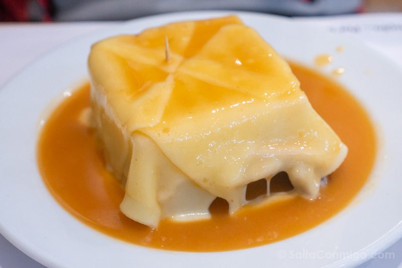 Donde Comer en Oporto Cafe Santiago Francesinha