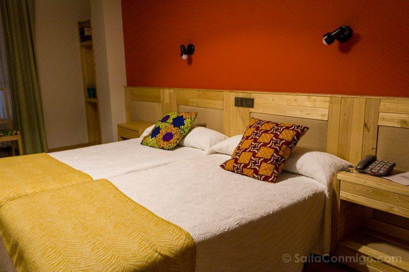 Dormir En Gijon Hotel San Miguel Habitacion