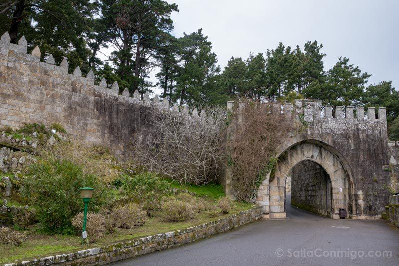 Fortaleza Parador Baiona Puerta Felipe IV