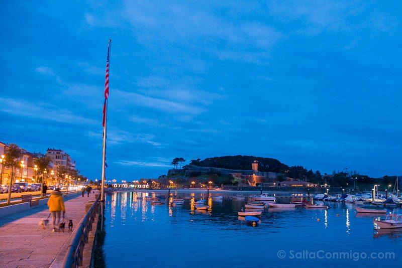 Fortaleza Parador Baiona Vista Puerto Noche