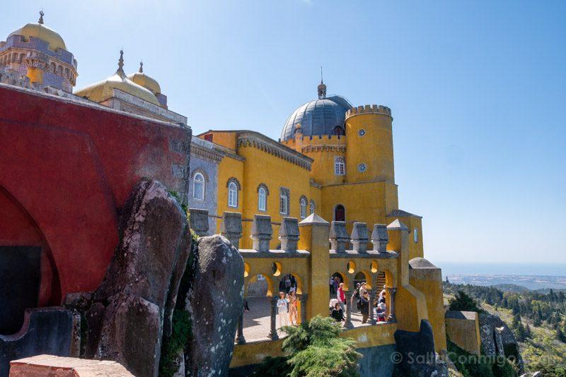 Palacio da Pena Camino Ronda