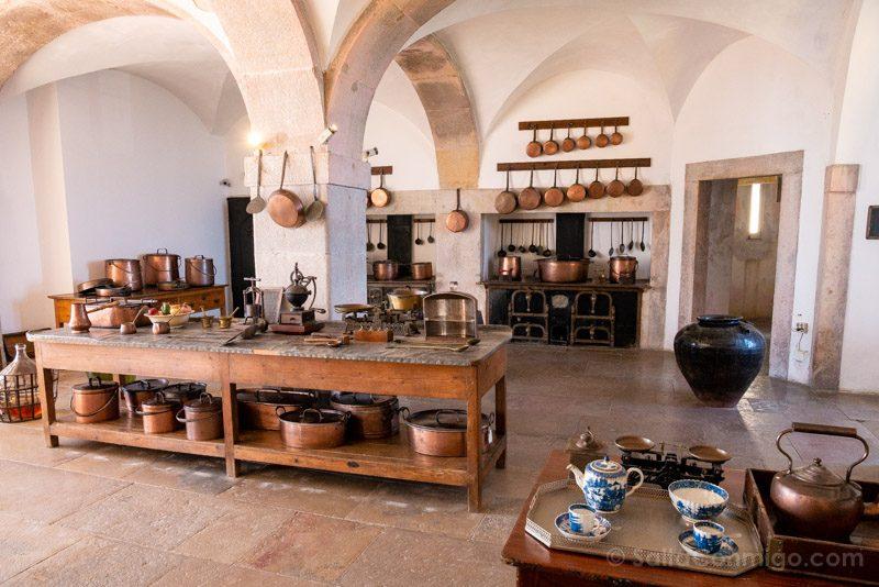 Palacio da Pena Cocina