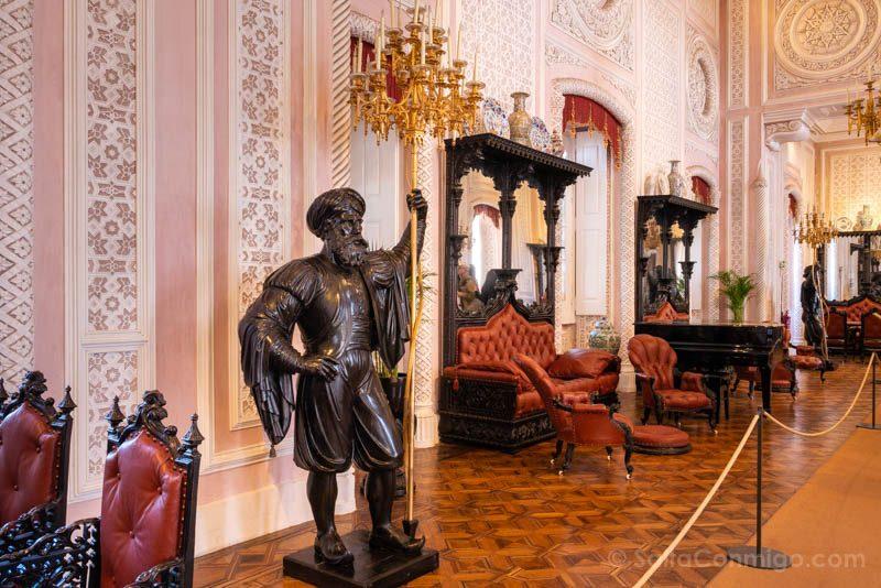 Palacio da Pena Salon Noble
