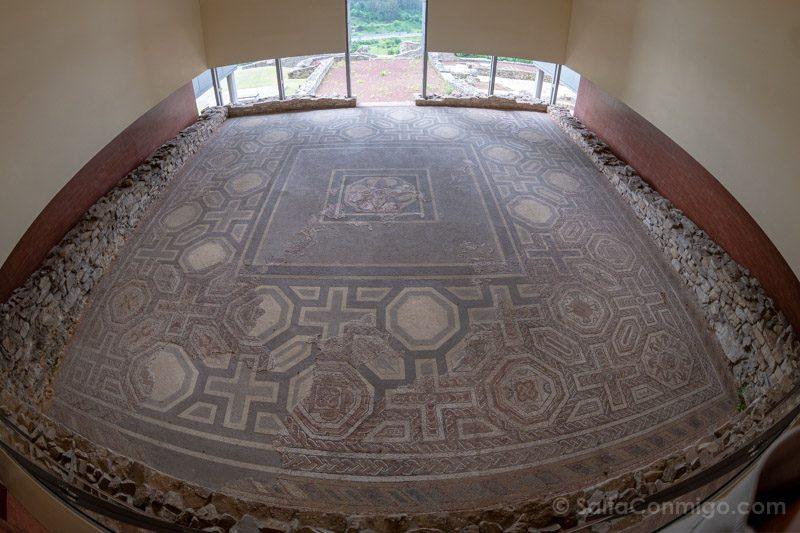 Que Ver En Gijon Villa Romana Veranes Mosaico