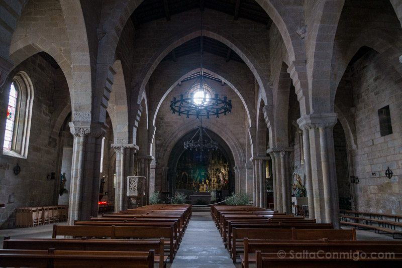 Que Ver en Baiona Ex Colegiata Santa Maria Interior