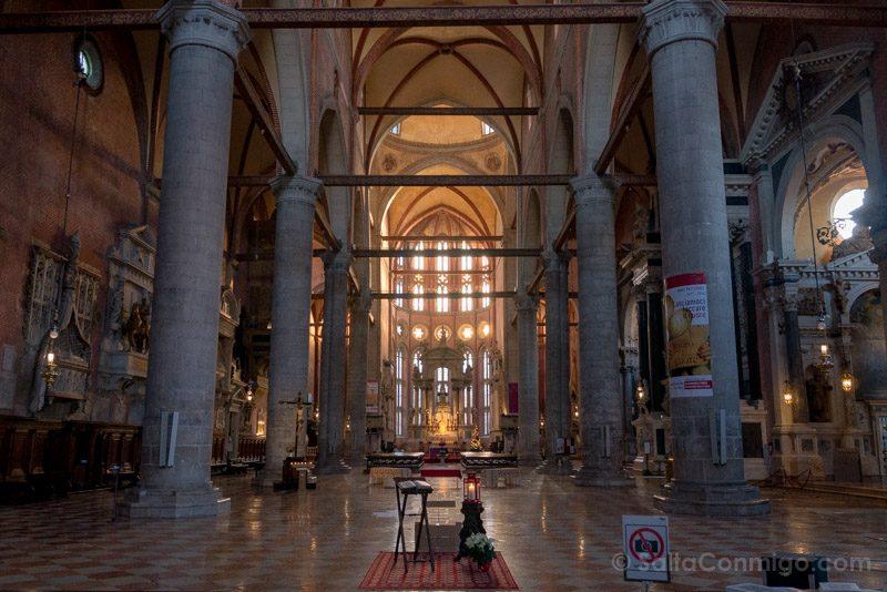 Que Ver en Venecia Basilica San Juan Pablo Interior