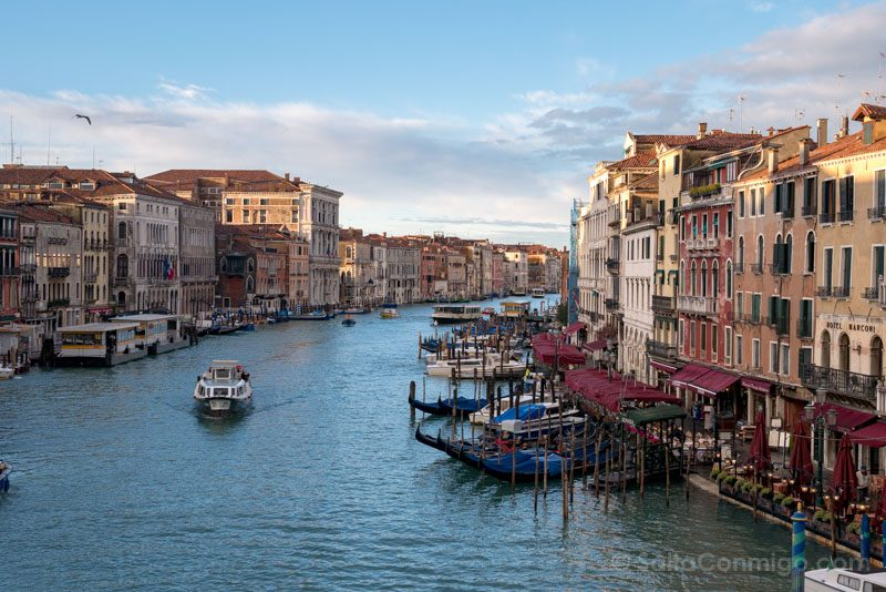 Que Ver en Venecia Ponte Rialto Vista