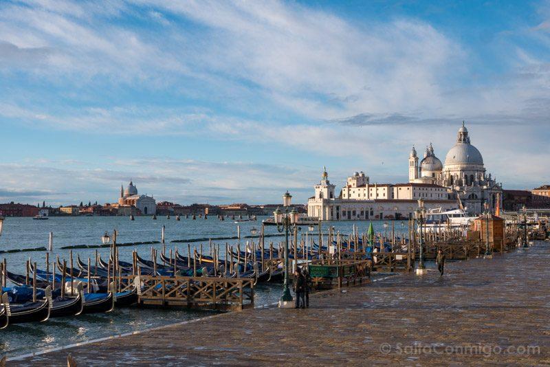 Que Ver en Venecia Riva Schiavoni Santa Maria Salud