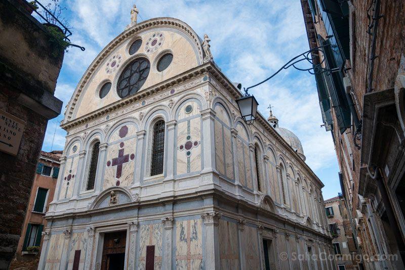 Que Ver en Venecia Santa Maria Milagros