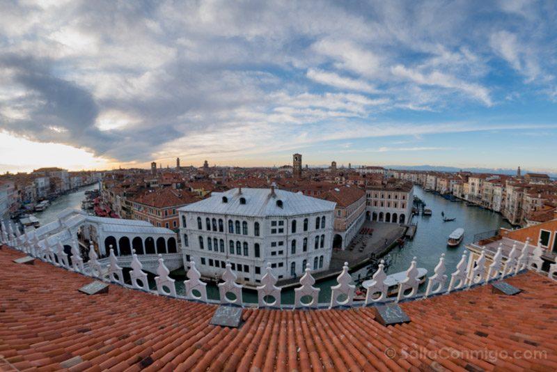 Que Ver en Venecia T Fondaco dei Tedeschi Vista