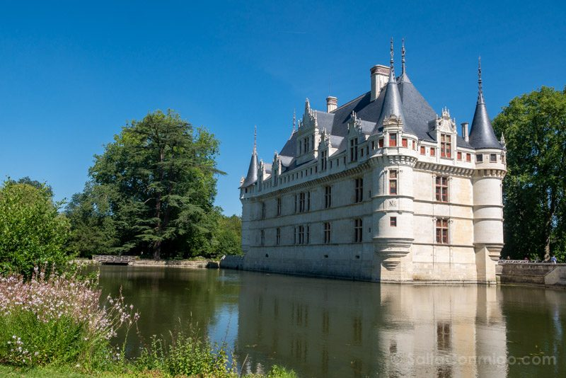 Ruta Castillos Loira Azay-le-Rideau Exterior
