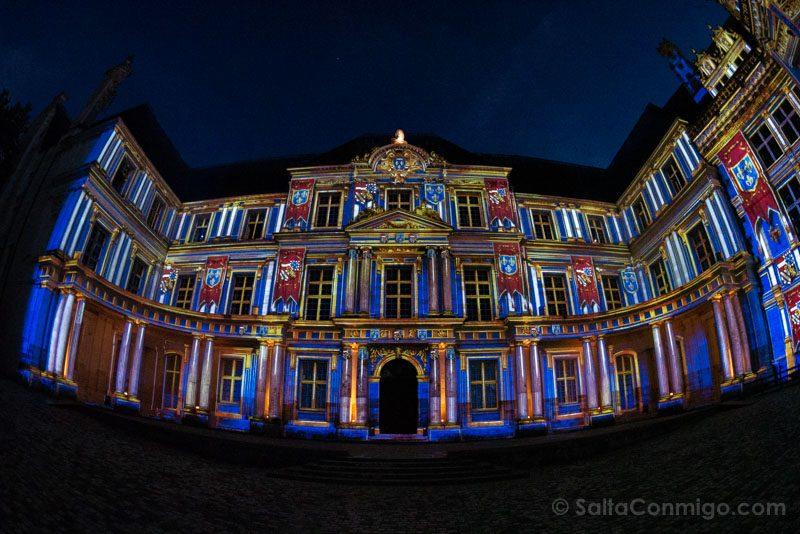 Ruta Castillos Loira Blois Luz Nocturna