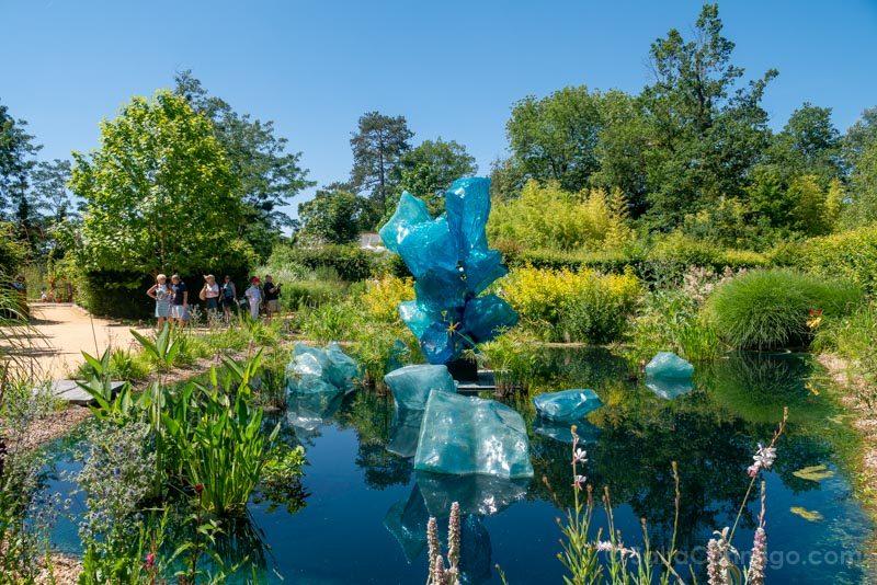 Un jardín contemporáneo en el castillo de Chaumont-sur-Loire