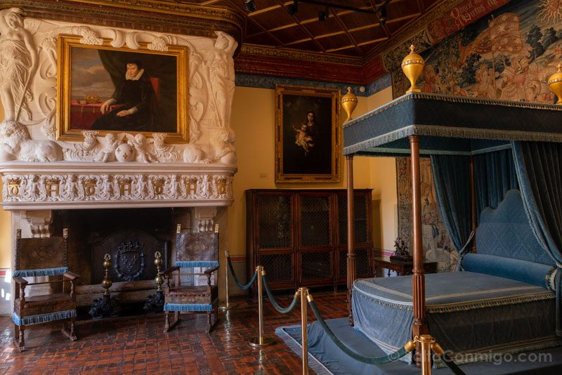 Ruta Castillos Loira Chenonceau Habitacion Medici