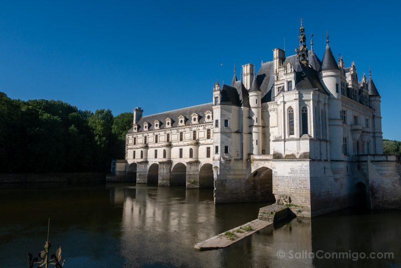 Ruta Castillos Loira Chenonceau Lateral