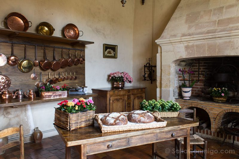 Ruta Castillos Loira Villandry Cocina