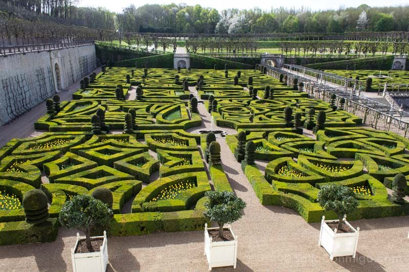Ruta Castillos Loira Villandry Jardin Desde Castillo