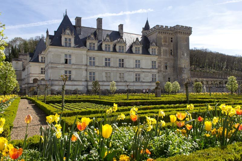 Ruta Castillos Loira Villandry Jardines