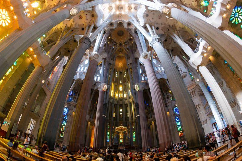 Sagrada Familia Ojo Pez