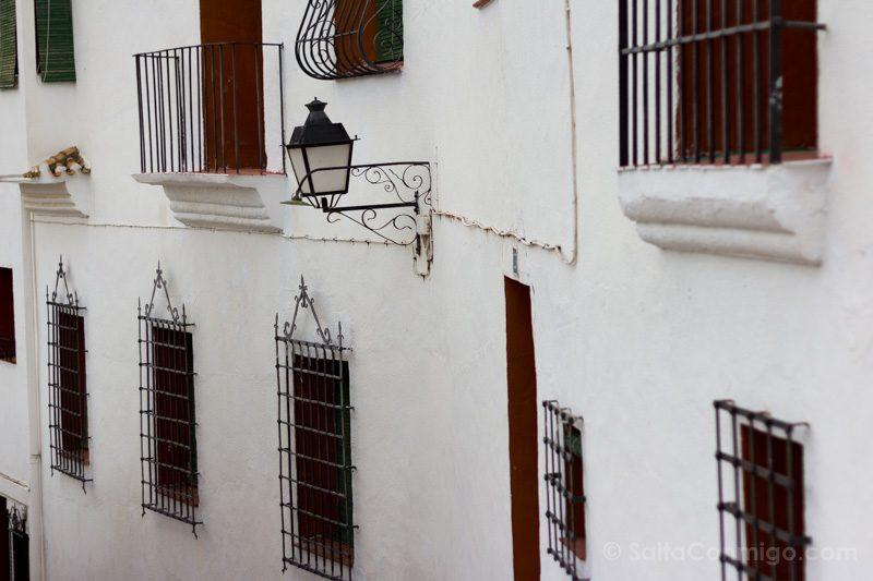 Alcala del Jucar Calle  Fachadas
