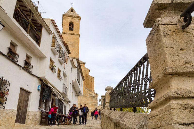 Alcala del Jucar Calle Hondonera Iglesia San Andres