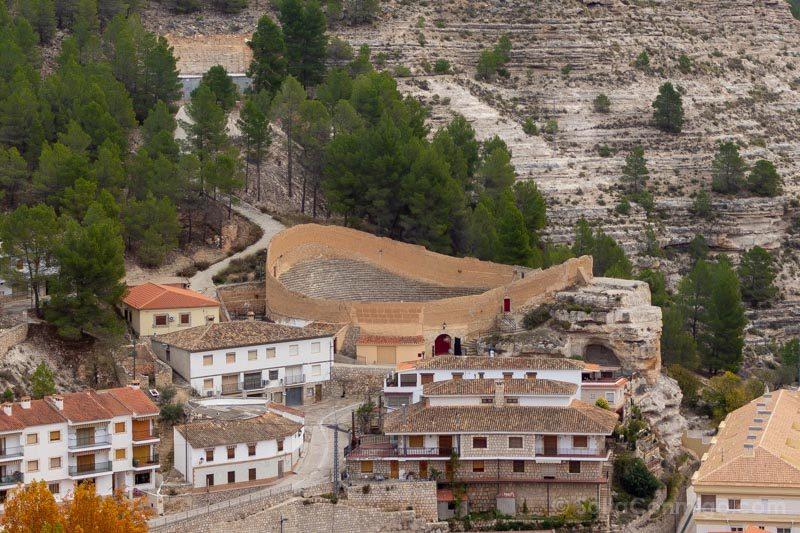 Alcala del Jucar Castillo Plaza Toros