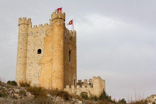 Alcala del Jucar Castillo Torreon