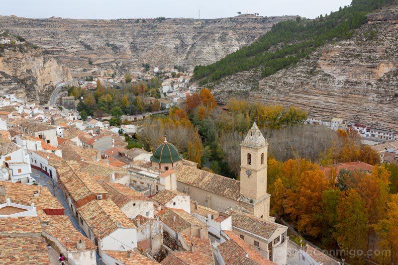 Alcala del Jucar Castillo Vista