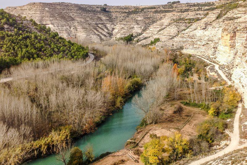 Alcala del Jucar Cueva Garaden Hoces  Jucar