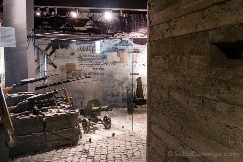 Fabrica de Schindler Cracovia Armas