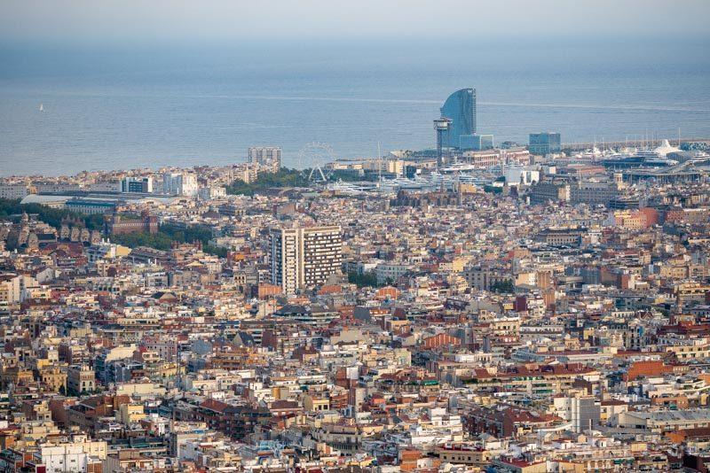 Miradores Barcelona Bunkers Carmel Turo Rovira Hotel W
