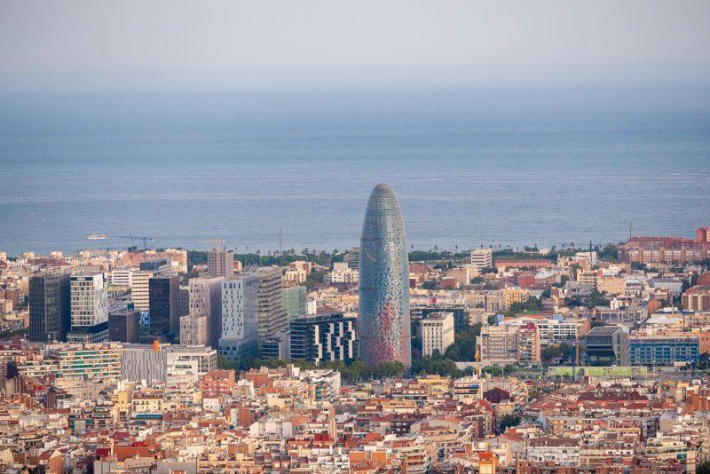 Miradores Barcelona Bunkers Carmel Turo Rovira Torre Glories